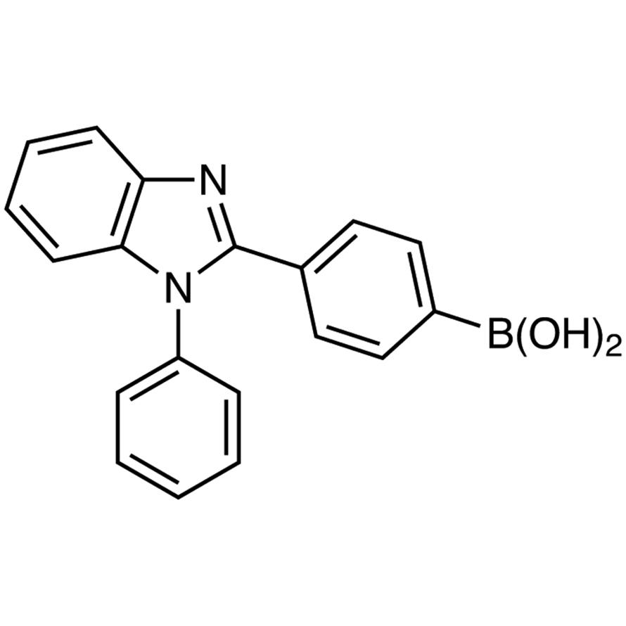 4-(1-Phenyl-1H-benzimidazol-2-yl)phenylboronic Acid (contains varying amounts of Anhydride)