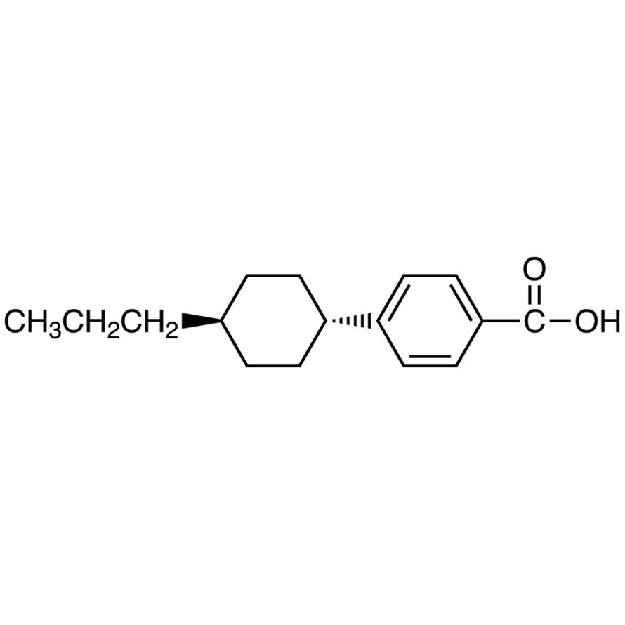 4-(trans-4-Propylcyclohexyl)benzoic Acid