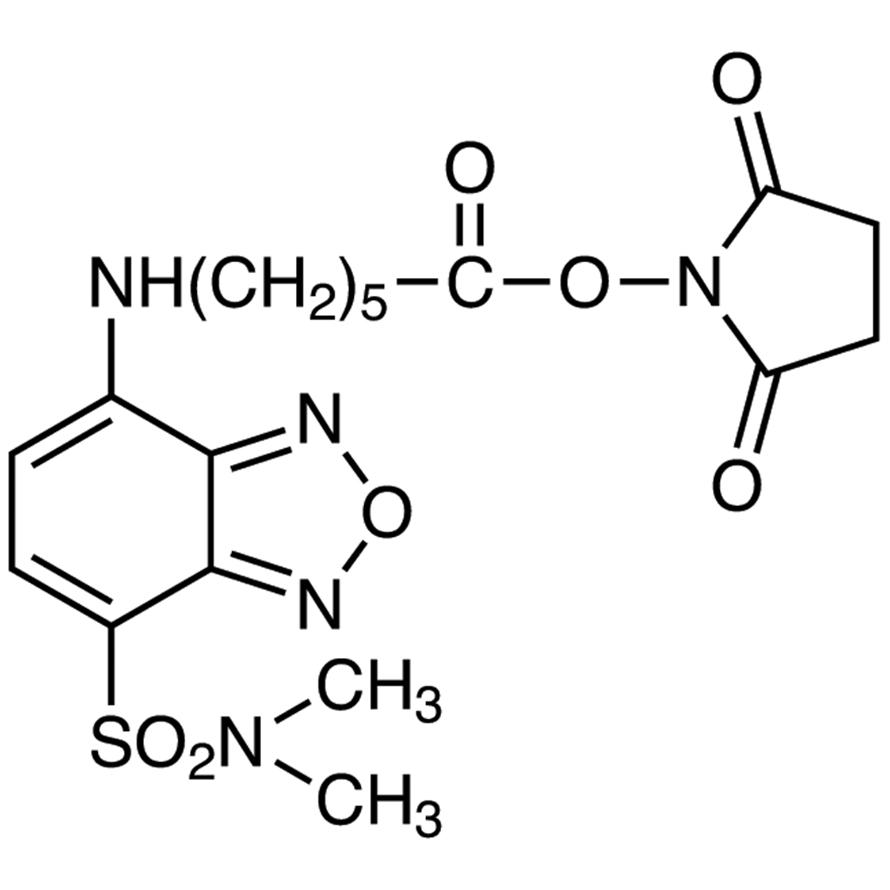 Succinimidyl 6-[[7-(N,N-Dimethylaminosulfonyl)-2,1,3-benzoxadiazol-4-yl]amino]hexanoate