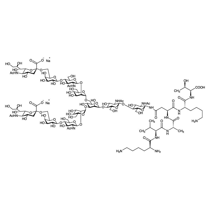 Sialylglycopeptide