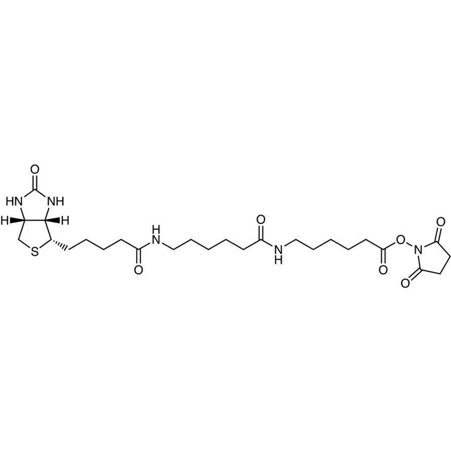 N-Succinimidyl N-[6-(Biotinamido)hexanoyl]-6-aminohexanoate