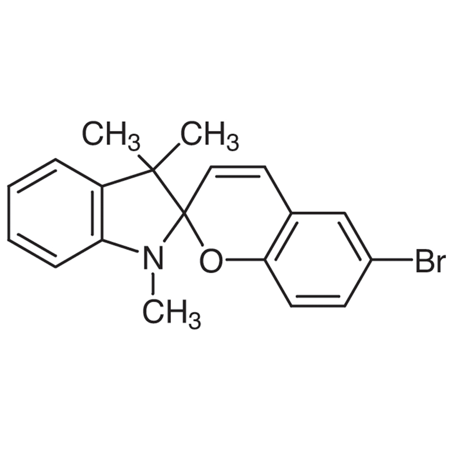 1,3,3-Trimethylindolino-6'-bromobenzopyrylospiran