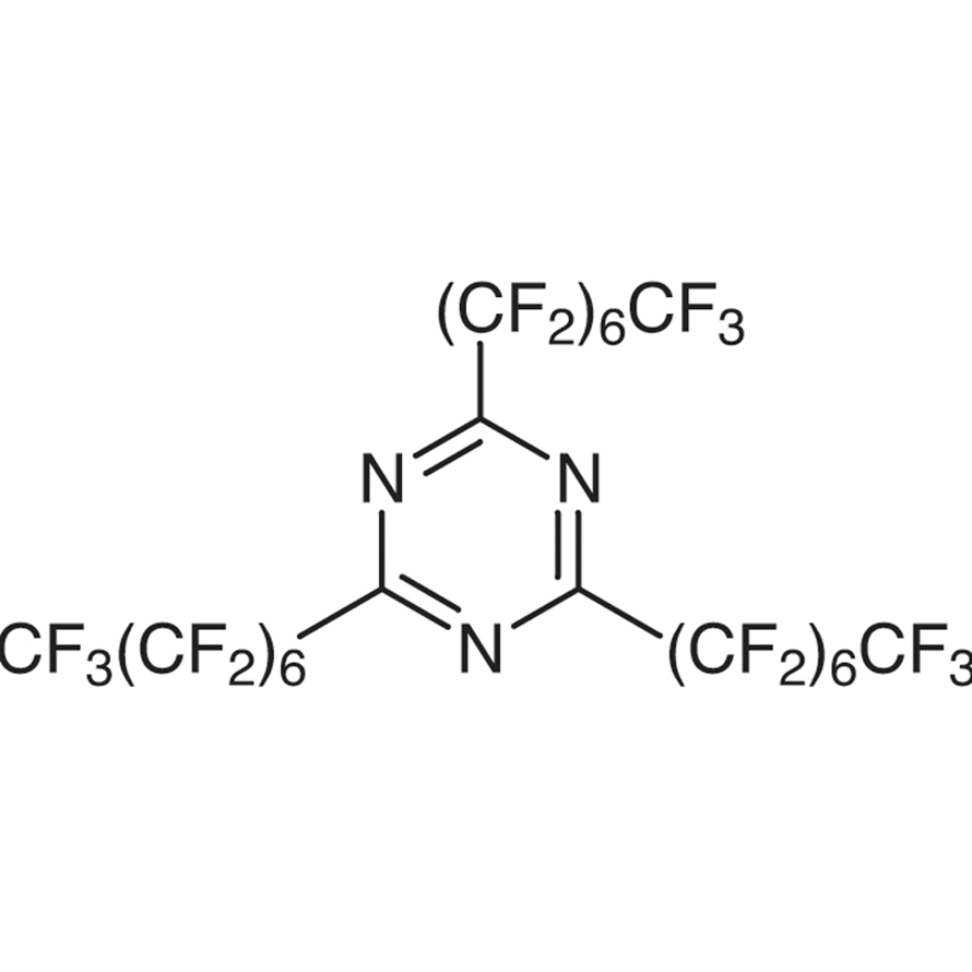 2,4,6-Tris(pentadecafluoroheptyl)-1,3,5-triazine