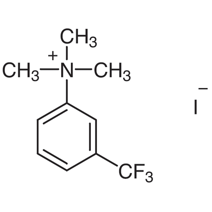 3-(Trifluoromethyl)phenyltrimethylammonium Iodide