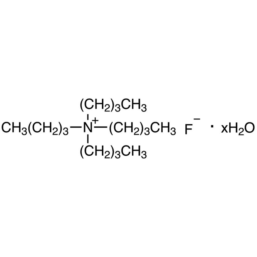 Tetrabutylammonium Fluoride Hydrate [for Catalyst of silylation and cleavage of silyl ether]
