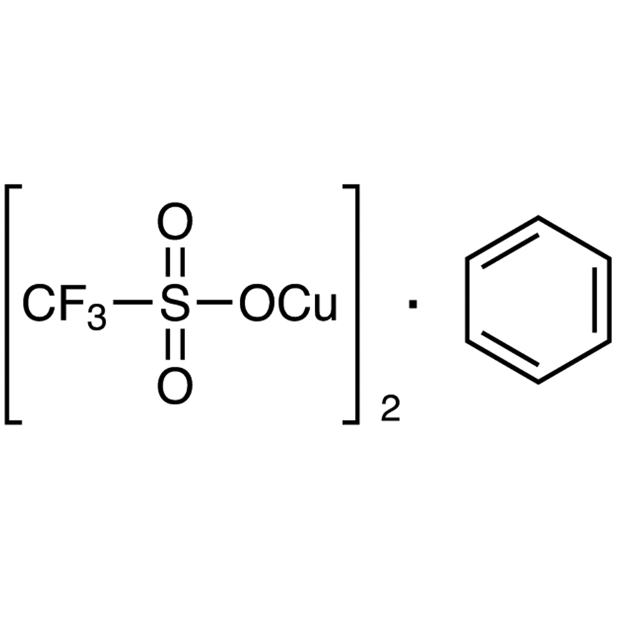 Copper(I) Trifluoromethanesulfonate Benzene Complex