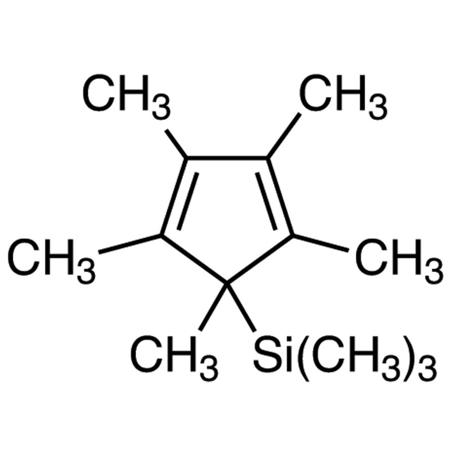 5-(Trimethylsilyl)-1,2,3,4,5-pentamethyl-1,3-cyclopentadiene