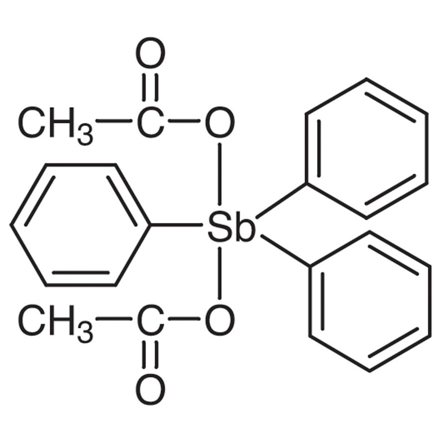 Triphenylantimony Diacetate