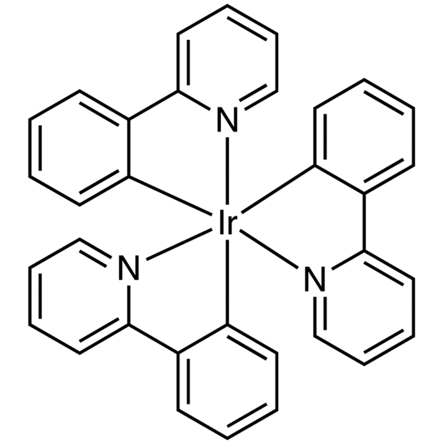 Tris(2-phenylpyridinato)iridium(III) (purified by sublimation)