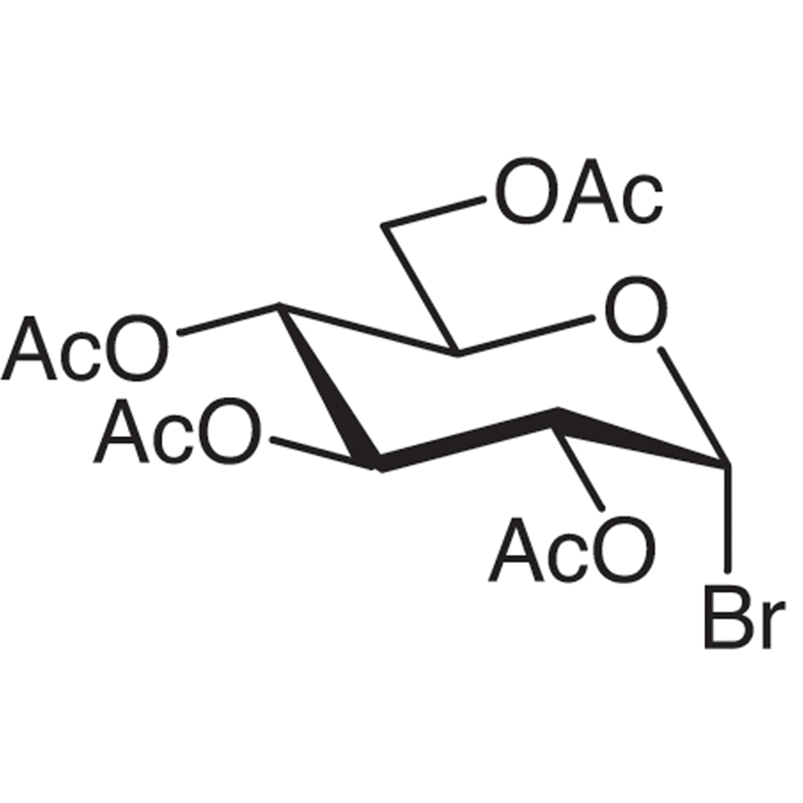 2,3,4,6-Tetra-O-acetyl-α-D-glucopyranosyl Bromide (stabilized with CaCO3)