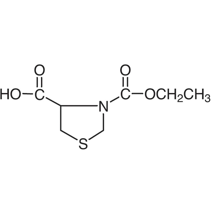 3-Ethyl (-)-Thiazolidine-3,4-dicarboxylate