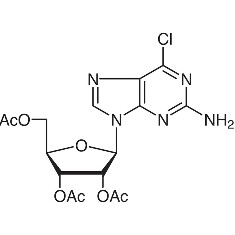 2',3',5'-Tri-O-acetyl-2-amino-6-chloropurine Riboside