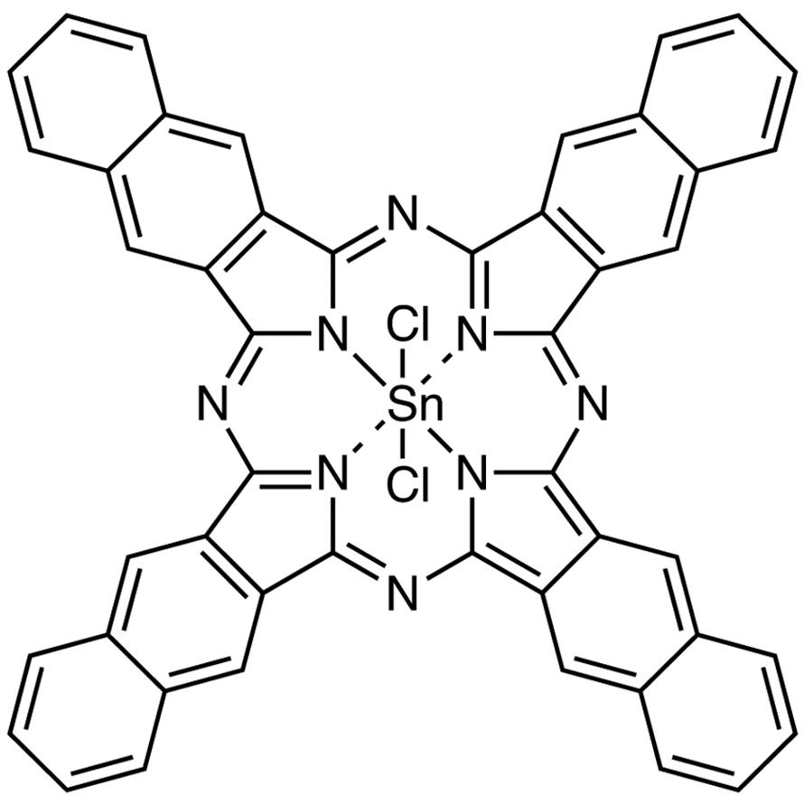 Tin(IV) 2,3-Naphthalocyanine Dichloride
