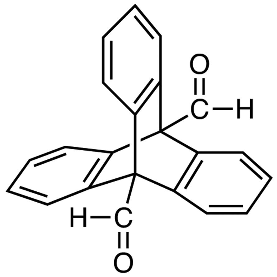 Triptycene-9,10-dicarboxaldehyde