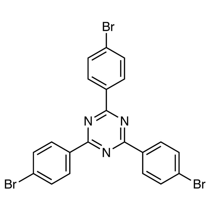 2,4,6-Tris(4-bromophenyl)-1,3,5-triazine