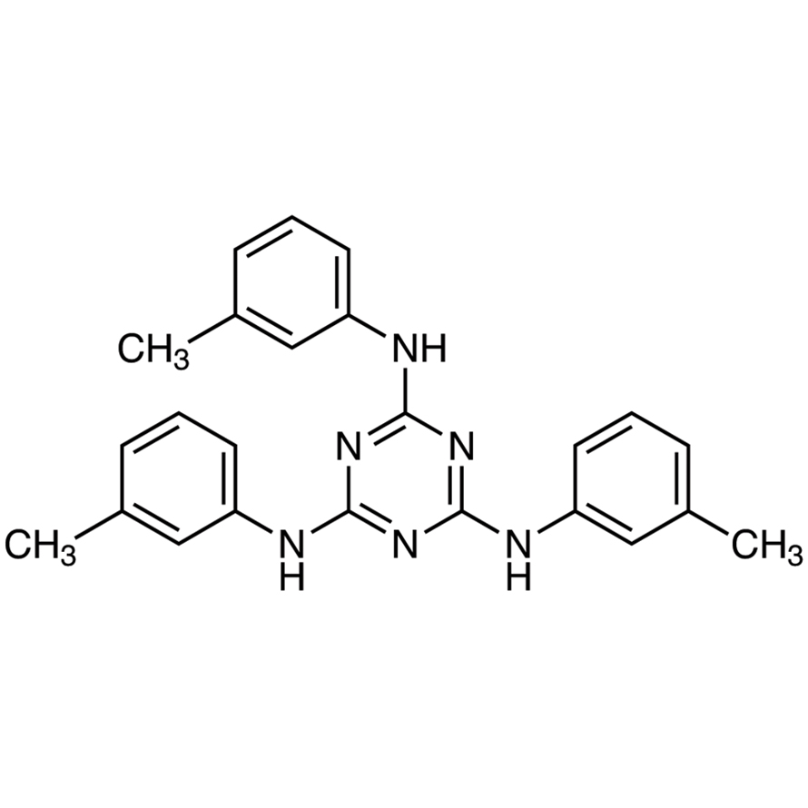 N,N',N''-Tri(m-tolyl)-1,3,5-triazine-2,4,6-triamine
