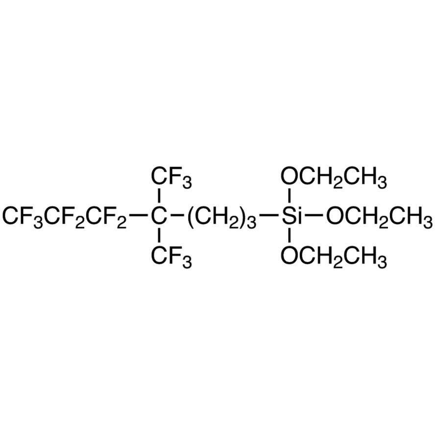 Triethoxy[5,5,6,6,7,7,7-heptafluoro-4,4-bis(trifluoromethyl)heptyl]silane