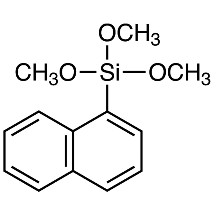 1-(Trimethoxysilyl)naphthalene