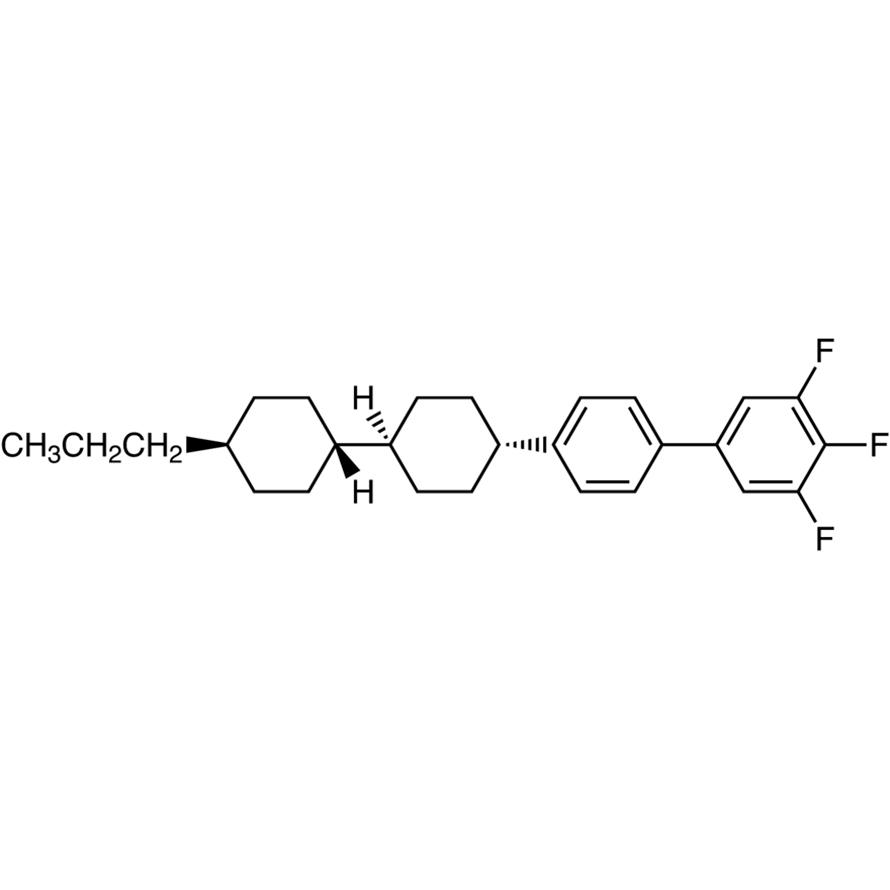 trans,trans-3,4,5-Trifluoro-4'-(4'-propylbicyclohexyl-4-yl)biphenyl