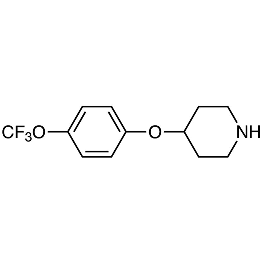 4-[4-(Trifluoromethoxy)phenoxy]piperidine