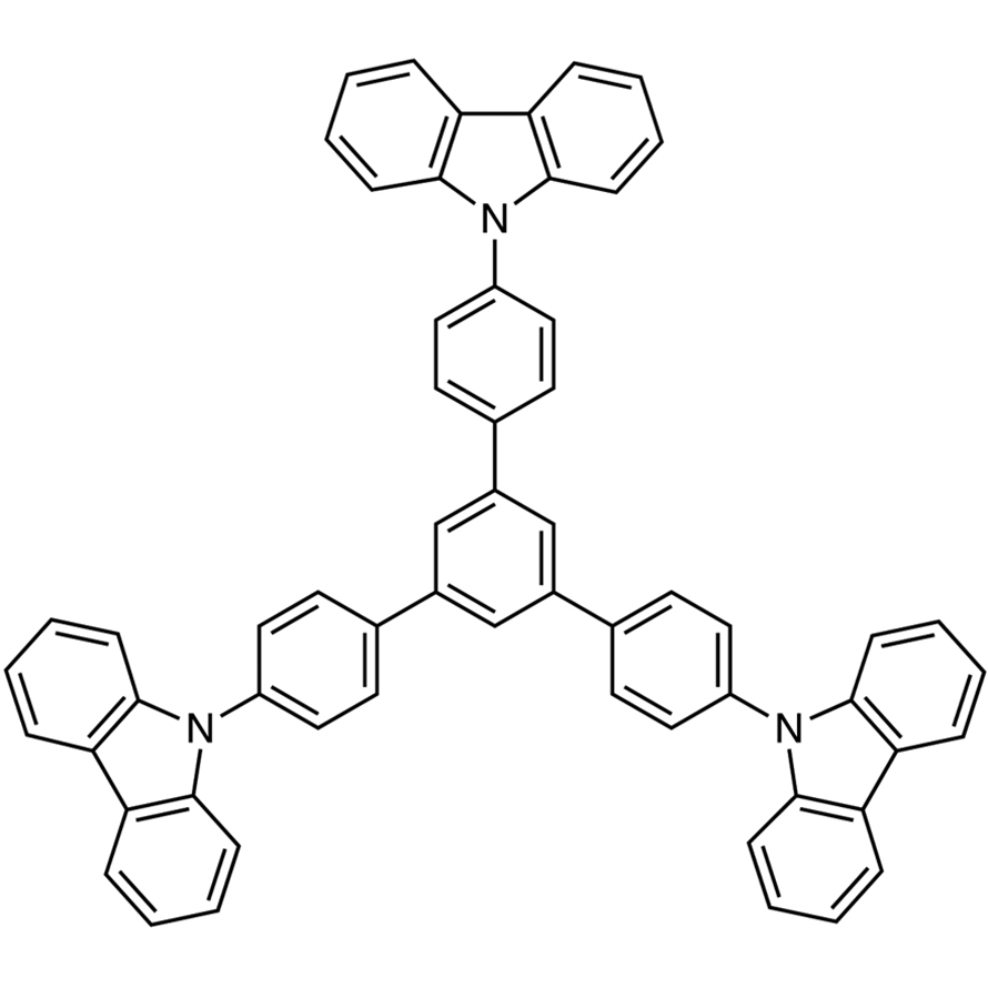 1,3,5-Tris[4-(9-carbazolyl)phenyl]benzene