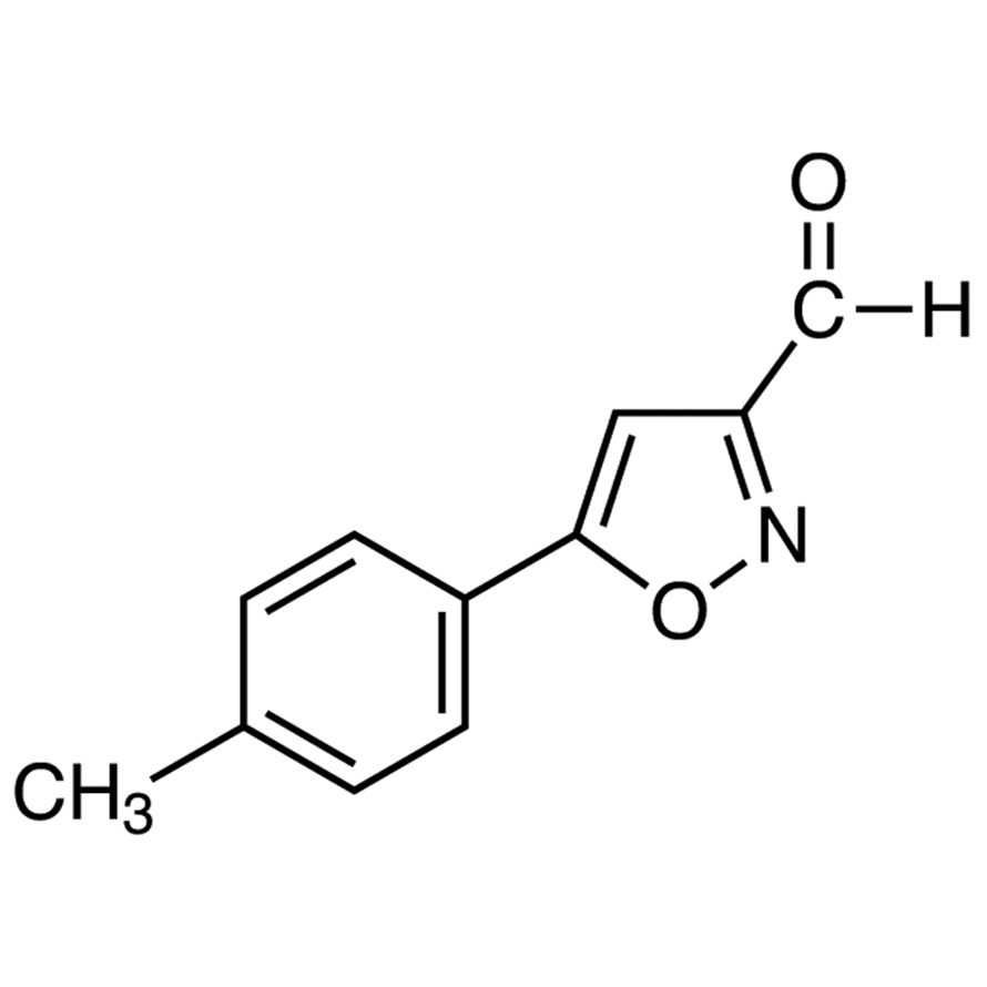 5-(p-Tolyl)isoxazole-3-carboxaldehyde