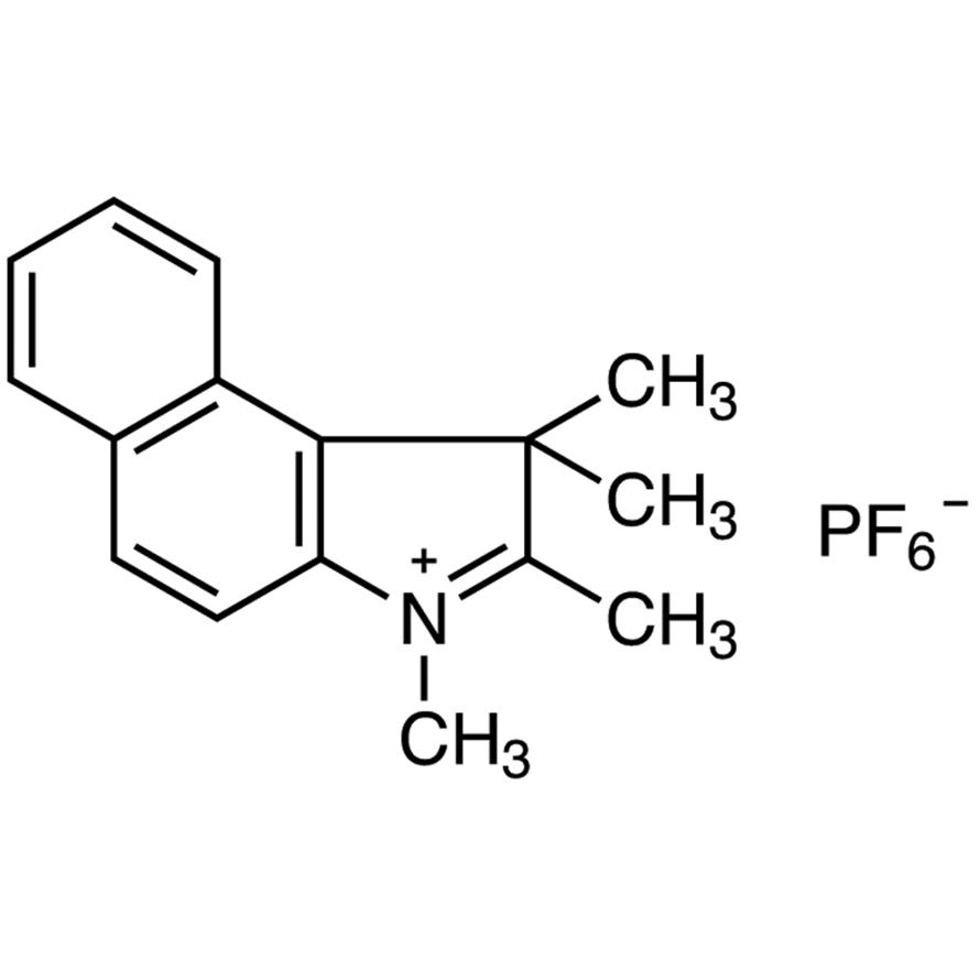 1,1,2,3-Tetramethyl-1H-benzo[e]indolium Hexafluorophosphate