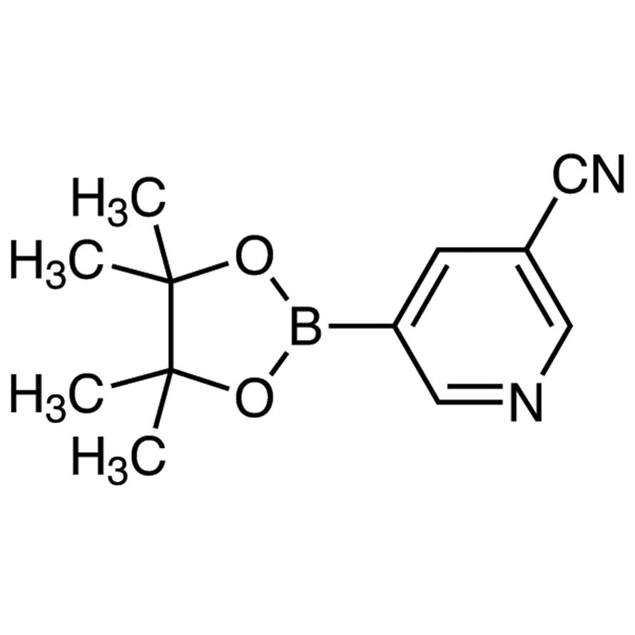 5-(4,4,5,5-Tetramethyl-1,3,2-dioxaborolan-2-yl)nicotinonitrile