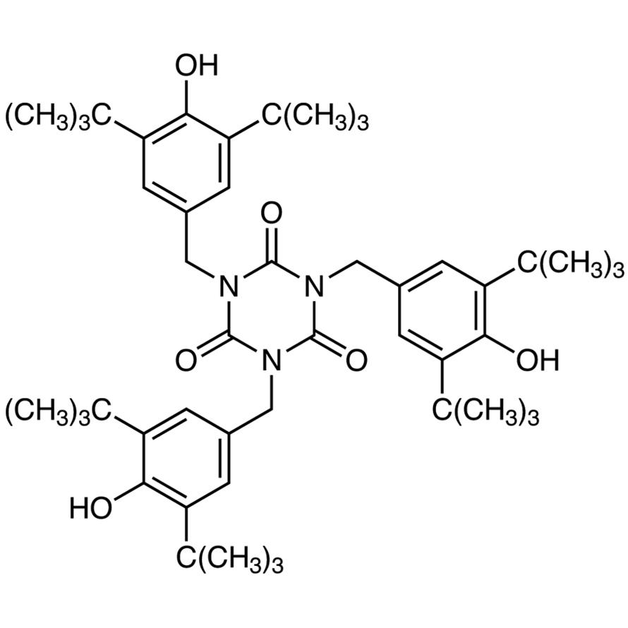 1,3,5-Tris(3,5-di-tert-butyl-4-hydroxybenzyl)-1,3,5-triazinane-2,4,6-trione