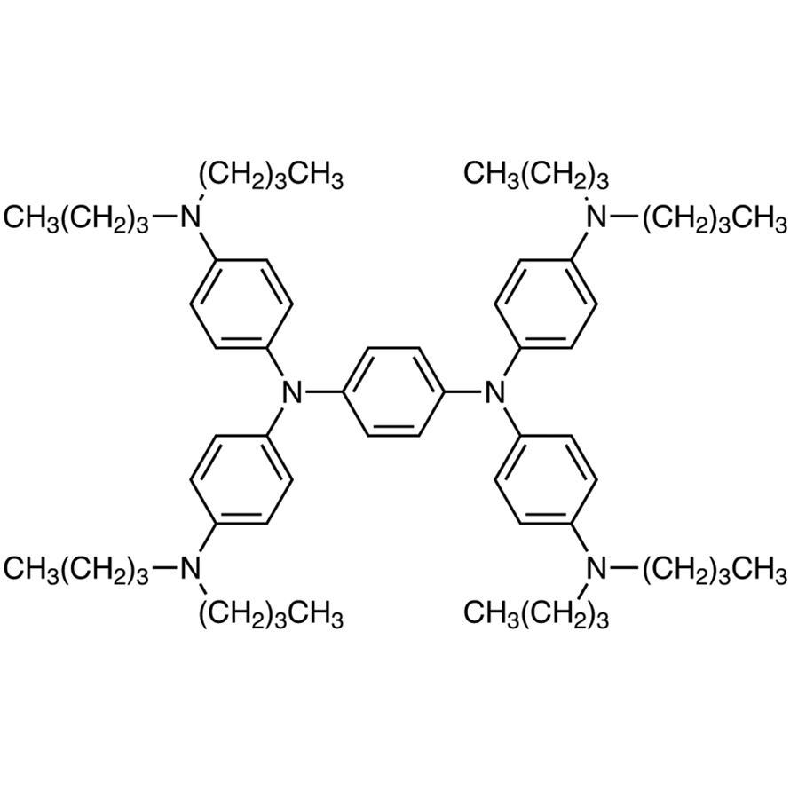 N,N,N',N'-Tetrakis[4-(dibutylamino)phenyl]-1,4-phenylenediamine