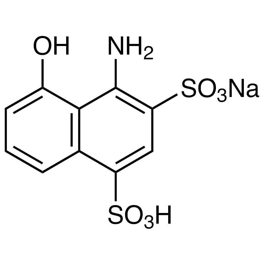 1-Amino-8-naphthol-2,4-disulfonic Acid Monosodium Salt