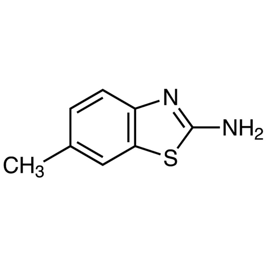 2-Amino-6-methylbenzothiazole