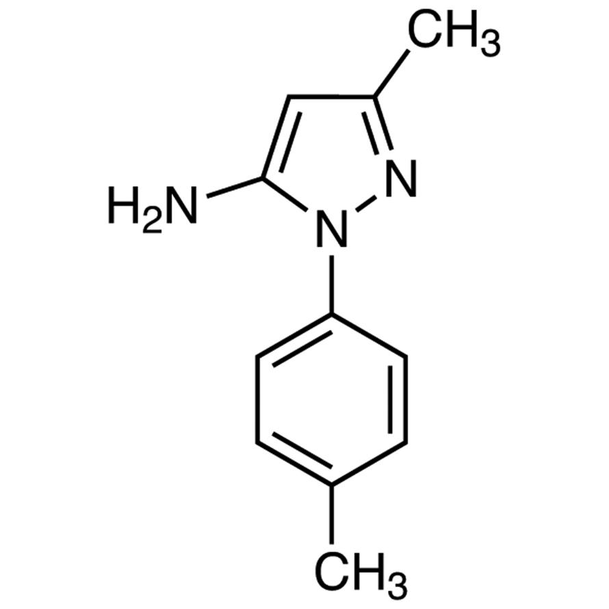 5-Amino-3-methyl-1-p-tolylpyrazole