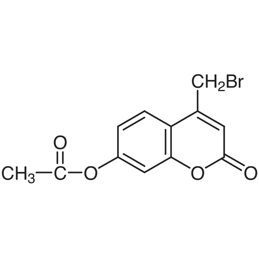 7-Acetoxy-4-bromomethylcoumarin [for HPLC Labeling]