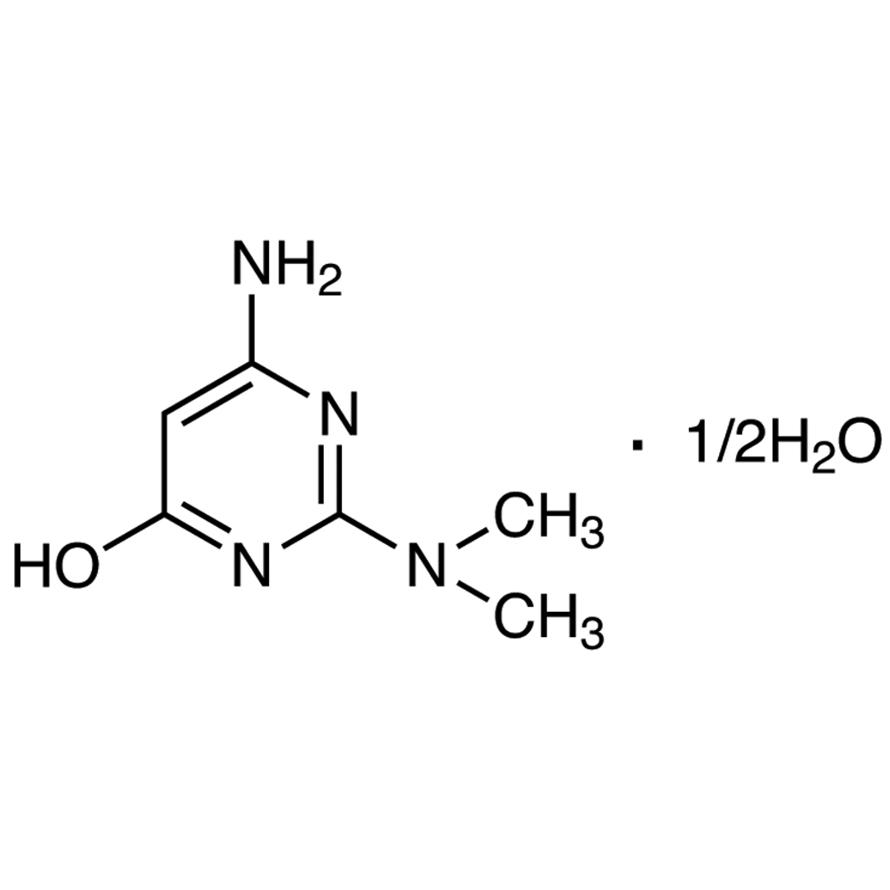 4-Amino-2-dimethylamino-6-hydroxypyrimidine Hemihydrate