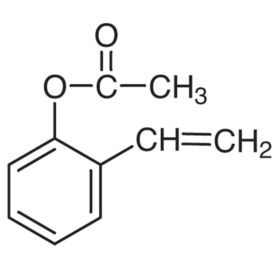 2-Vinylphenyl Acetate (stabilized with Phenothiazine)