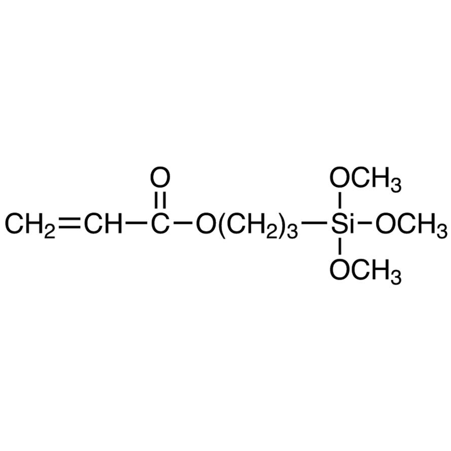 3-(Trimethoxysilyl)propyl Acrylate (stabilized with BHT)