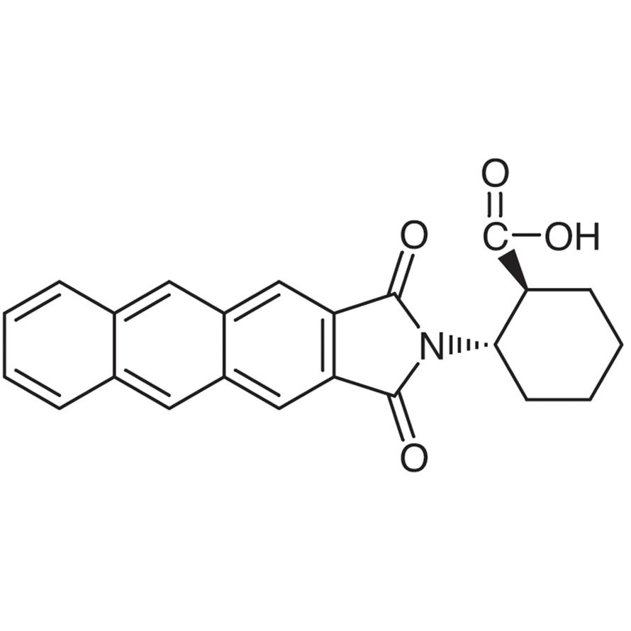 (1S,2S)-2-(Anthracene-2,3-dicarboximido)cyclohexanecarboxylic Acid