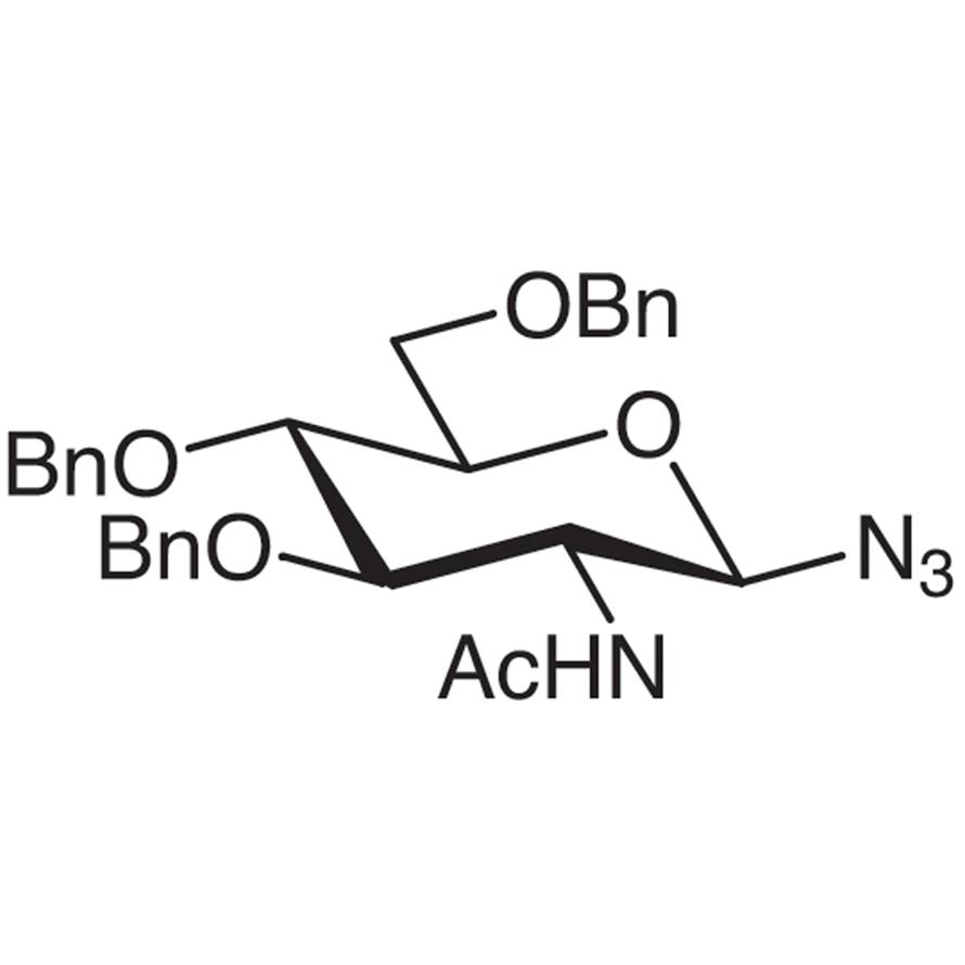 2-Acetamido-3,4,6-tri-O-benzyl-2-deoxy--D-glucopyranosyl Azide