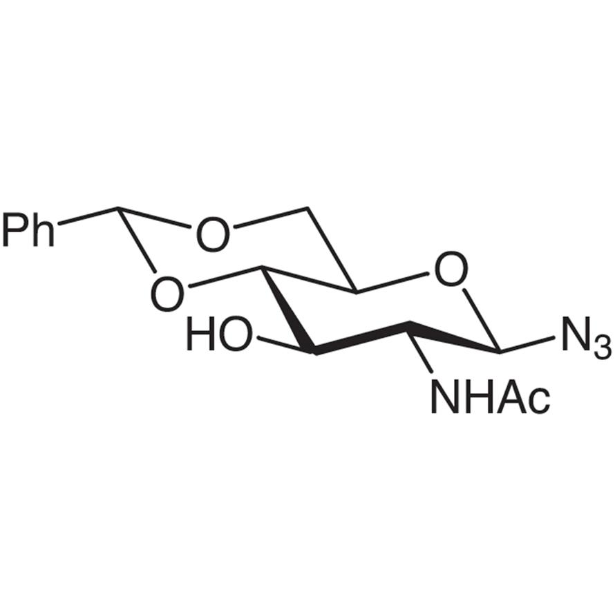 2-Acetamido-4,6-O-benzylidene-2-deoxy--D-glucopyranosyl Azide