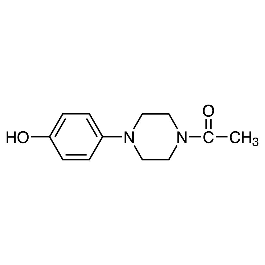 1-Acetyl-4-(4-hydroxyphenyl)piperazine