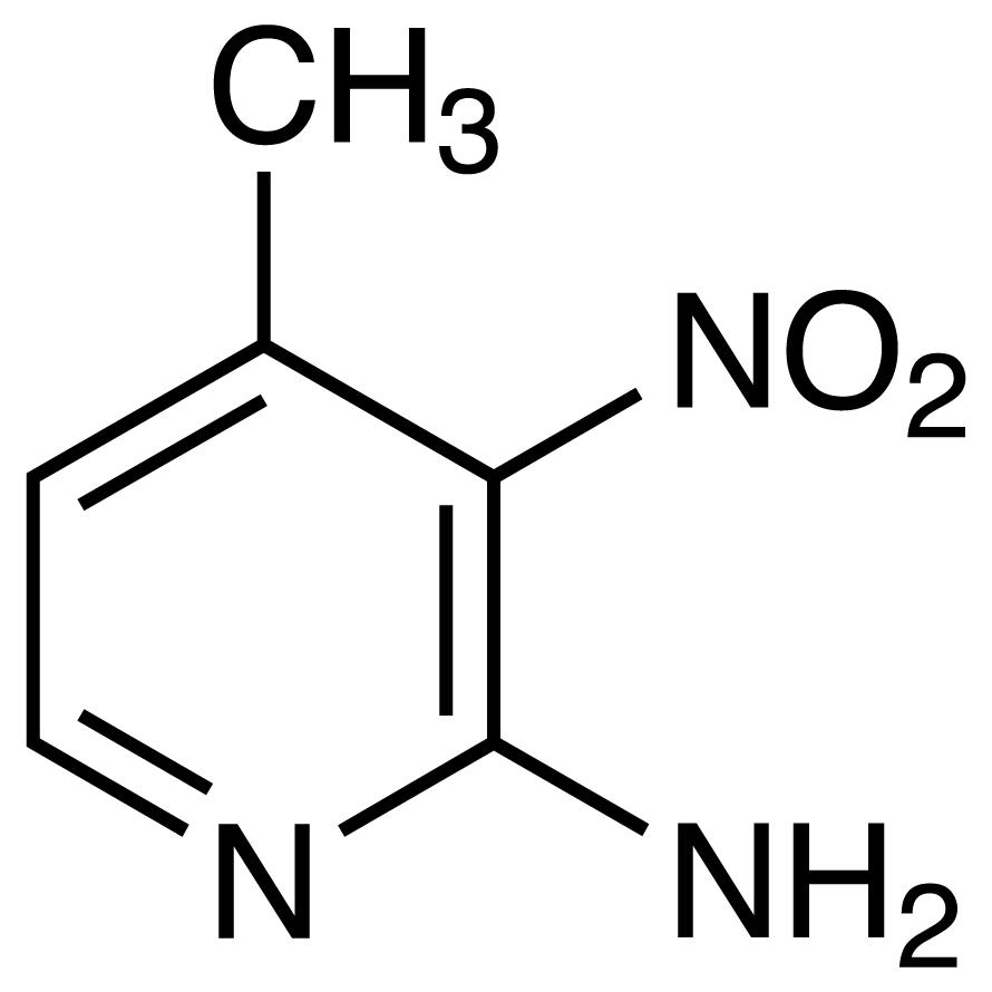 2-Amino-4-methyl-3-nitropyridine