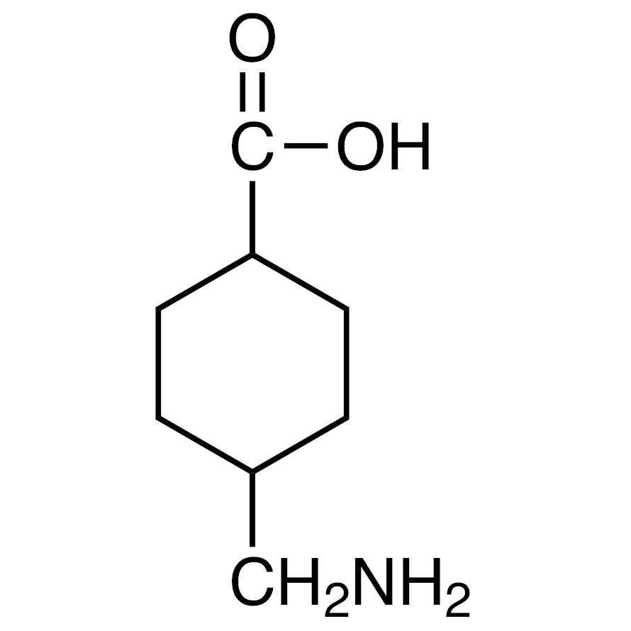 4-(Aminomethyl)cyclohexanecarboxylic Acid (cis- and trans- mixture)