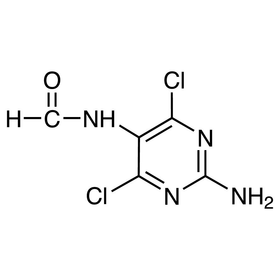 2-Amino-4,6-dichloro-5-formamidopyrimidine