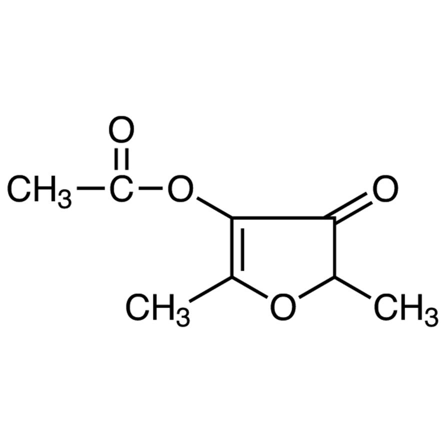 4-Acetoxy-2,5-dimethyl-3(2H)-furanone