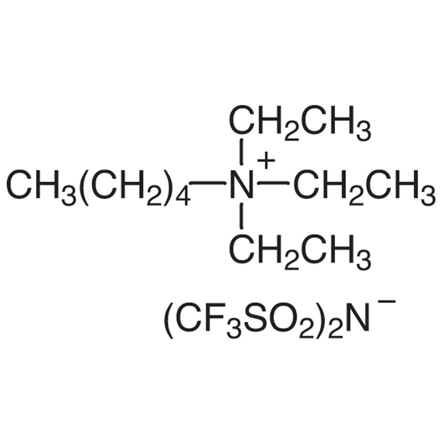 Amyltriethylammonium Bis(trifluoromethanesulfonyl)imide