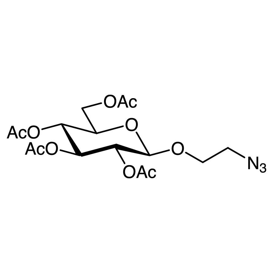 2-Azidoethyl 2,3,4,6-Tetra-O-acetyl--D-glucopyranoside