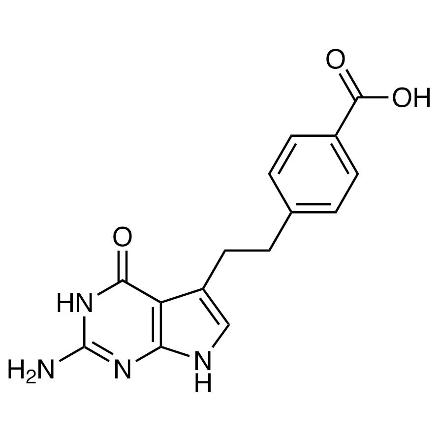 4-[2-(2-Amino-4,7-dihydro-4-oxo-3H-pyrrolo[2,3-d]pyrimidin-5-yl)ethyl]benzoic Acid
