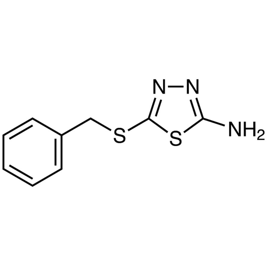 2-Amino-5-(benzylthio)-1,3,4-thiadiazole
