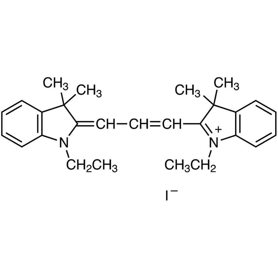 1,1'-Diethyl-3,3,3',3'-tetramethylindocarbocyanine Iodide